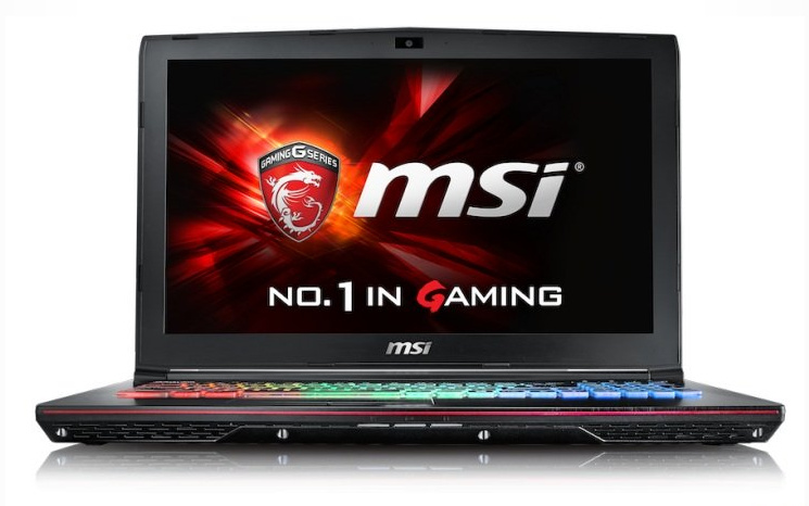 Laptop MSI GE62VR
